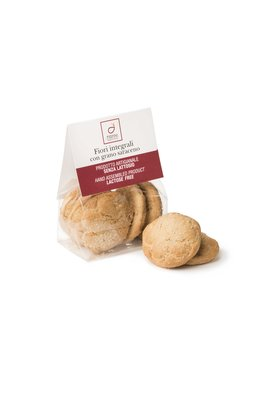 Lactose-free biscuits with buckwheat flour Image