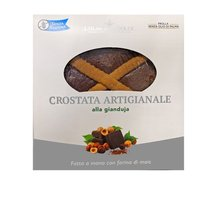 Crostata di meliga al gianduja Featured Image
