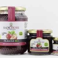 Confettura extra di fragole bio, Organic strawberry jam, Vegan, Gluten Free Featured Image