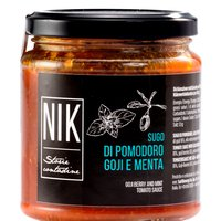 TOMATO SAUCE WITH GOJI BERRIES AND MINT 275g Featured Image