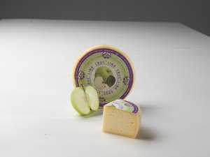 Crucolina - italian cheese with apples from Trentino Image