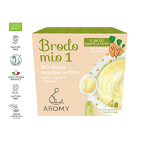 Brodo mio 1 | Organic vegetable broth in pyramid bags Featured Image