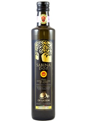 EXTRA VIRGIN OLIVE OIL SABINA P.D.O. Featured Image