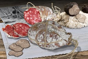 SALAME TARTÚ WITH TRUFFLE Featured Image