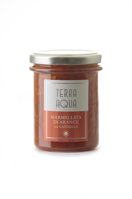 ORANGE MARMALADE WITH CINNAMON (240GR) - TERRA AQUA Featured Image